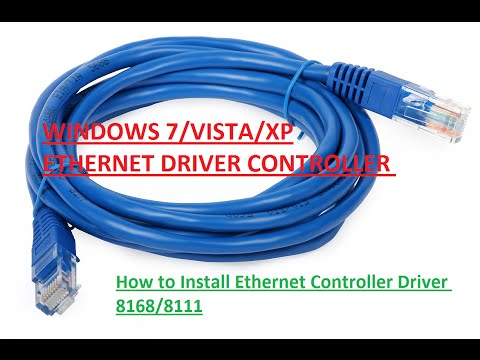 How to install Realtek Ethernet Controller Driver 8168/8111