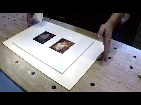 Framing Photographs - Part One: Cutting the Mat and Mounting