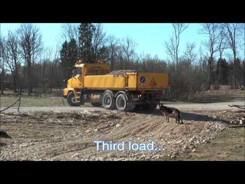 Building a Gravel Driveway 2016 Edition