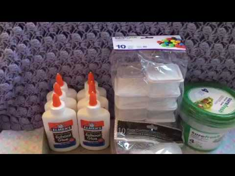 Slime Supply Haul: From Family Dollar And Dollar Tree