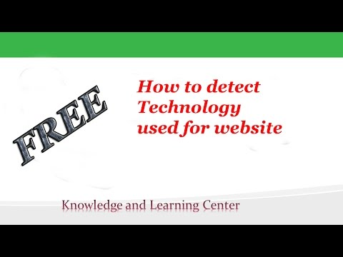 How to DETECT TECHNOLOGY ,Platform , Languages BEHIND A WEBSITE