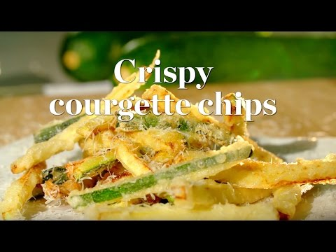 How to make courgette chips