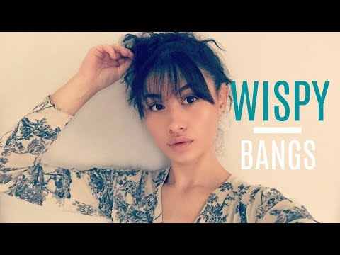 HOW TO: CUT WISPY BANGS AT HOME