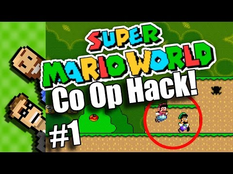 2 PLAYER SIMULTANEOUS! Super Mario World CO-OP Hack | Multiplayer