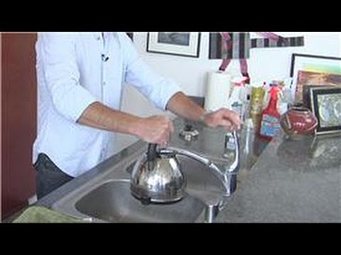 Kitchen Appliance Cleaning : Cleaning Mineral Deposits in Tea Kettles