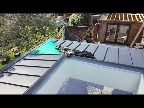 Alwitra SinglePly,  Metal Standing Seam and bespoke Aluminium Fascia - Aloft Ltd
