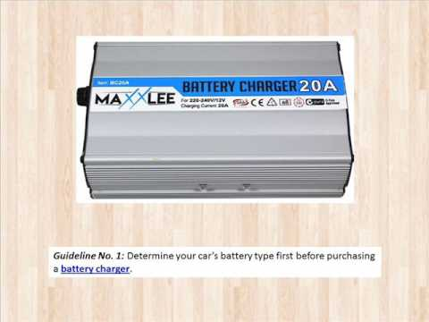 Tips in choosing a Car Battery Charger