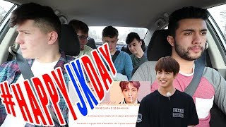 Download NON KPOP FANS REACT TO BTS JUNGKOOK - EUPHORIA +LIVE PERFORMANCE   Car ride edition   #happyjkday Video