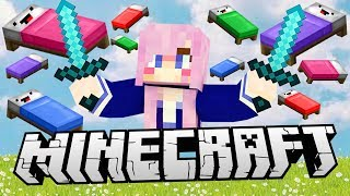 LDShadowLady vs. YouTubers | Minecraft Bed Wars