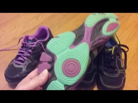 Ryka Influence Dance Workout Shoe Review--For Zumba, etc.