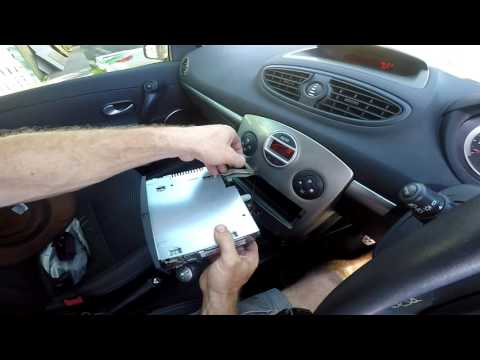 How to add iPhone, iPod or Android MP3 to a Renault Clio Stereo