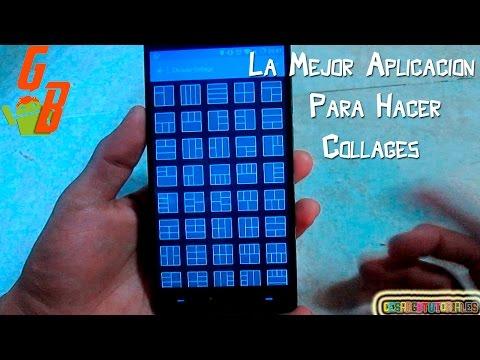Hacer Todo Tipo De Collages - La Mejor Aplicacion Android 2015 ♥