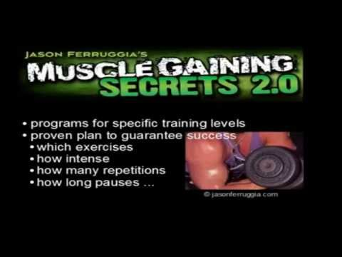 Best Muscle Gaining Secrets Review - How to get big muscles? Bodybuilding workout by Jason Ferruggia