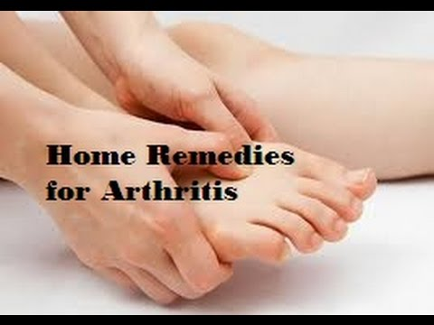 Top 10 Home Remedies for Arthritis pain