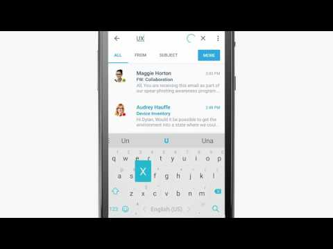 BlackBerry Work Email Tutorial (Android)