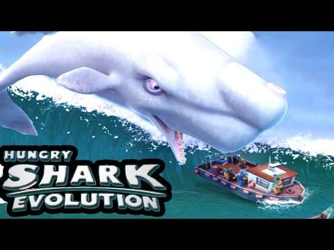 MOBY DICK...!!! | Hungry Shark Evolution | New Shark Christmas update