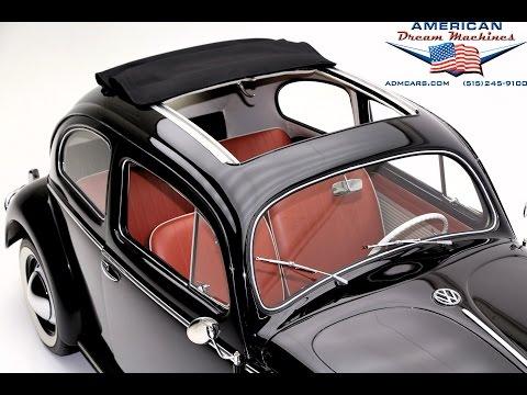 1957 Volkswagen Beetle Sunroof
