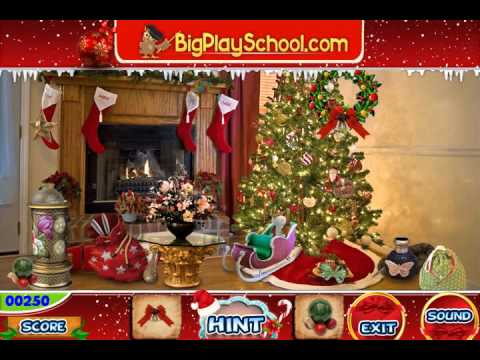 Christmas Tree - Free Find Hidden Objects Games