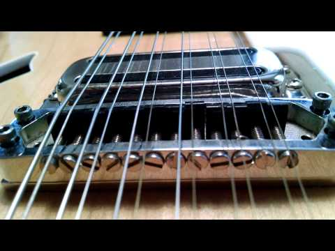 Setting Intonation on Ric 12 String
