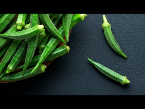 How to chop Bhindi   Easy way to cut Lady's Finger   How to slit Okra for stuffing