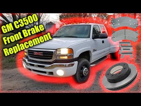Silverado/Sierra C3500 Front Brake Replacement