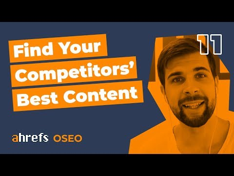 How to find the best content of your competitors [OSEO-11]