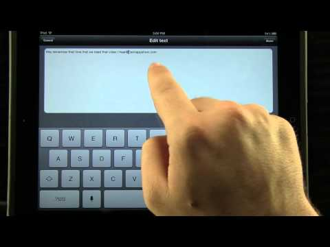 Voice Assistant for iPad - Just use your voice instead of typing