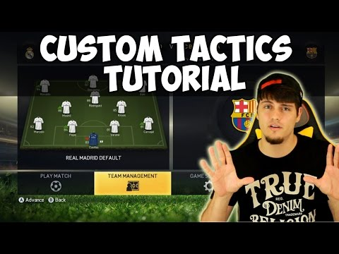 FIFA 15 Custom Tactics Tutorial | How to use Custom Tactics + Work Rate Help | Best FIFA Guide