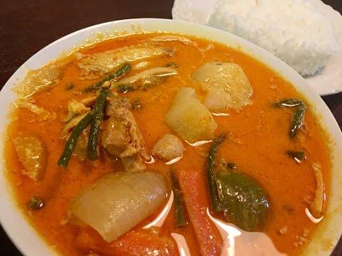 Cambodian Chicken Curry Recipe