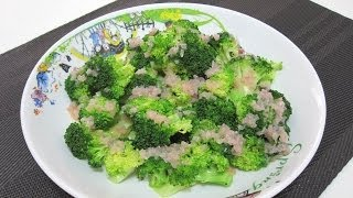 Steamed Broccoli With Lemon Butter Sauce For Atkins Diet Phase 1 Diet