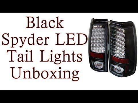 Spyder LED Tail Lights Unboxing (99-02 Silverado)