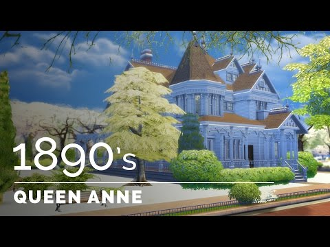 Sims 4  |  Decade Build Series  |  1890s Queen Anne Victorian