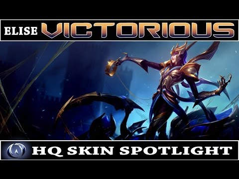 League of Legends: Victorious Elise (HQ Skin Spotlight)