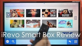 iRevo Smart Entertainment Box for your TV Review