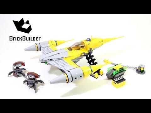 Lego Star Wars 75092 Naboo Starfighter - Lego Speed Build