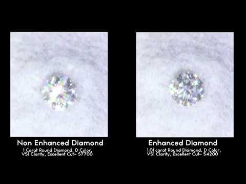 Enhanced Vs Non Enhanced Diamonds