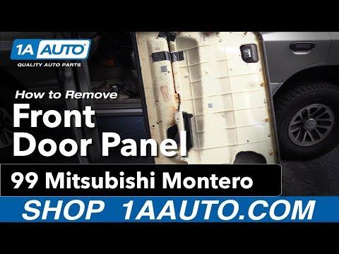 How to Replace Front Door Panel 92-99 Mitsubishi Montero