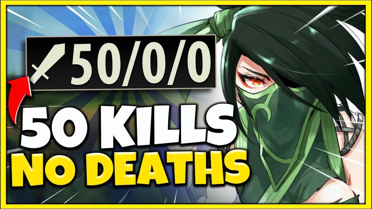 Challenge: Get 50 Kills Without Dying in Ranked *INSANE DIFFICULTY* - League of Legends