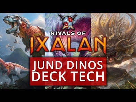 Jund Dinosaurs Rivals of Ixalan Standard Deck Tech MTG