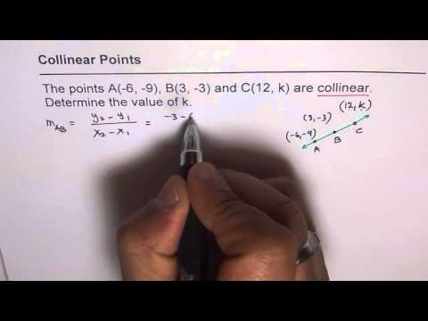 Find Coordinates of Collinear Point