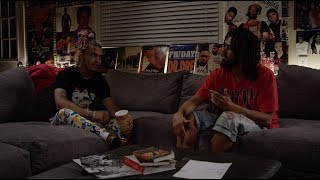 J. Cole x Lil Pump Interview at The Sheltuh