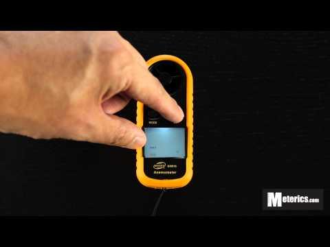 Benetech GM816 Digital Anemometer / Wind Speed Meter Review