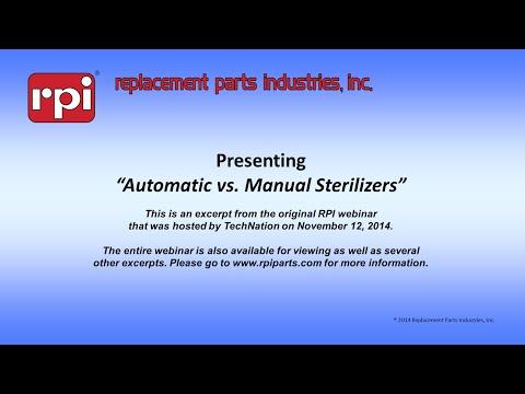 Automatic vs Manual Sterilizers