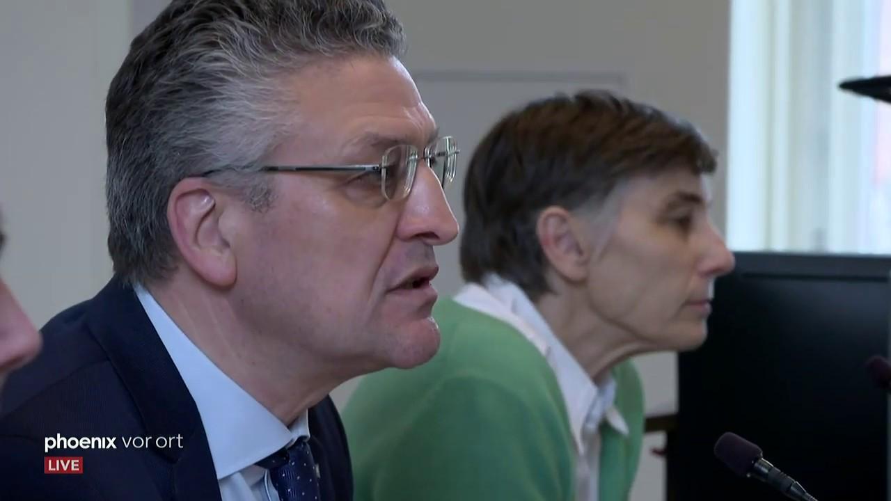 Berlin: Pressekonferenz Robert-Koch-Institut zum Coronavirus am 27.02.20