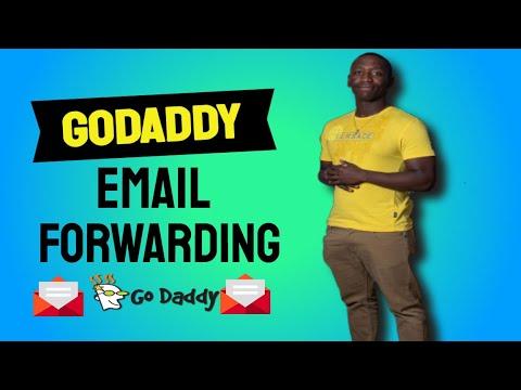 GoDaddy Email Forwarding - How To Set Up Email Forwarding Using GoDaddy