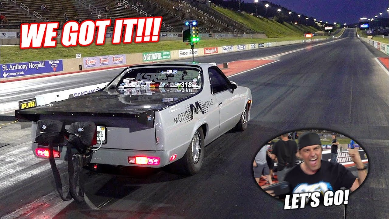 RACE WEEK Day 4: Mullet's First Ever RACE WEEK Seven Second Pass!!! Blazer Gets Tons of Nitrous!