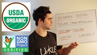 Organic, All-Natural, non-GMO | What Do The Labels Actually Mean