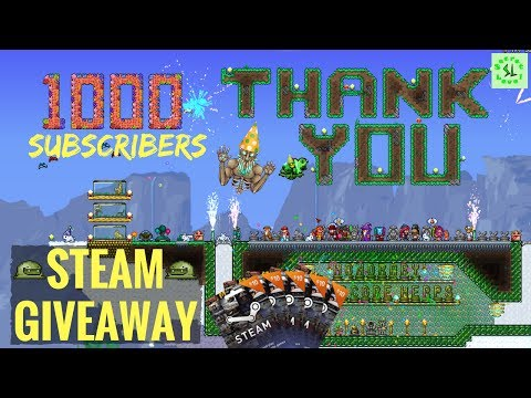 1000 SUBSCRIBERS GIVEAWAY! | Steam Gift Cards Draw for Secret Levelers