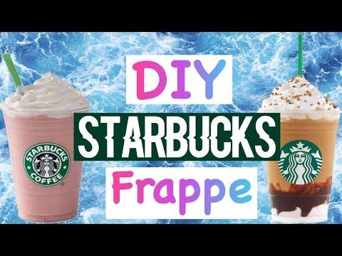 DIY Starbucks Cotton Candy and Smores Frappè | No Coffee