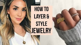 MY EVERYDAY JEWELRY ESSENTIALS & MUST HAVES! ALEXANDREA GARZA